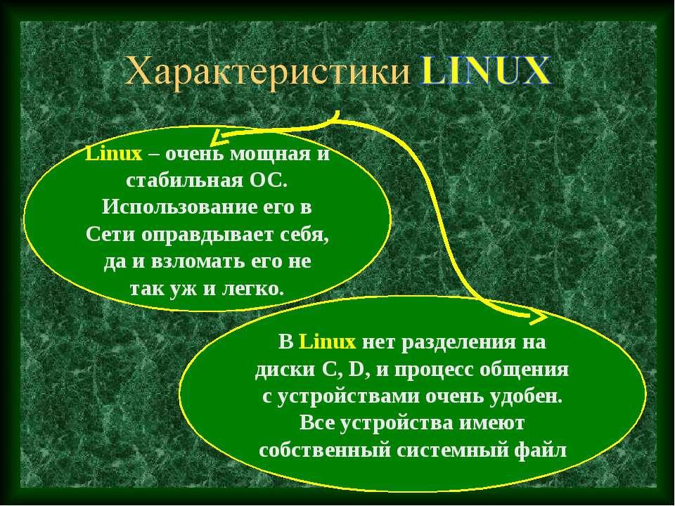 Linux – очень мощная и стабильная ОС. Использование его в Сети оправдывает се...