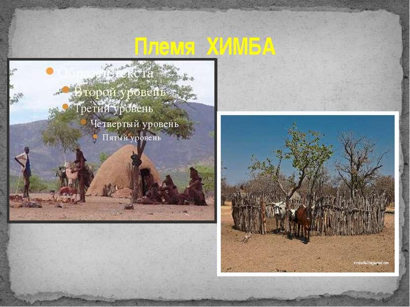 Племя ХИМБА