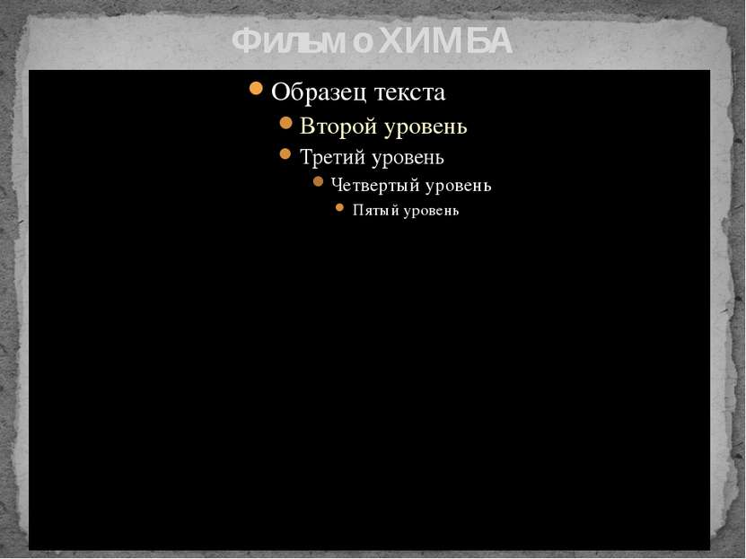 Фильм о ХИМБА