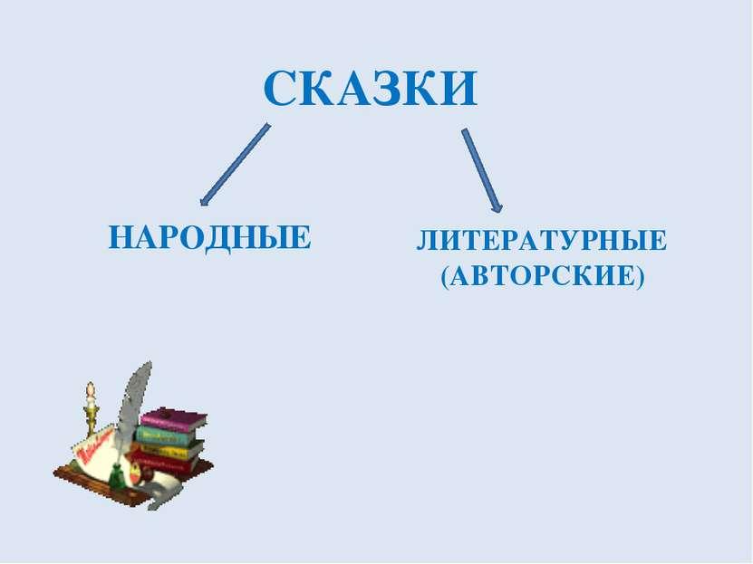 СКАЗКИ НАРОДНЫЕ ЛИТЕРАТУРНЫЕ (АВТОРСКИЕ)