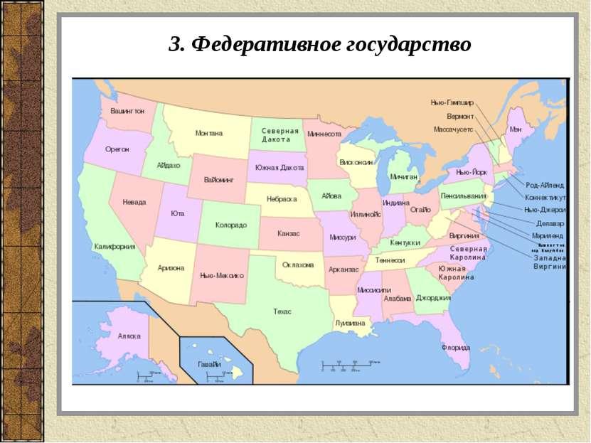 3. Федеративное государство