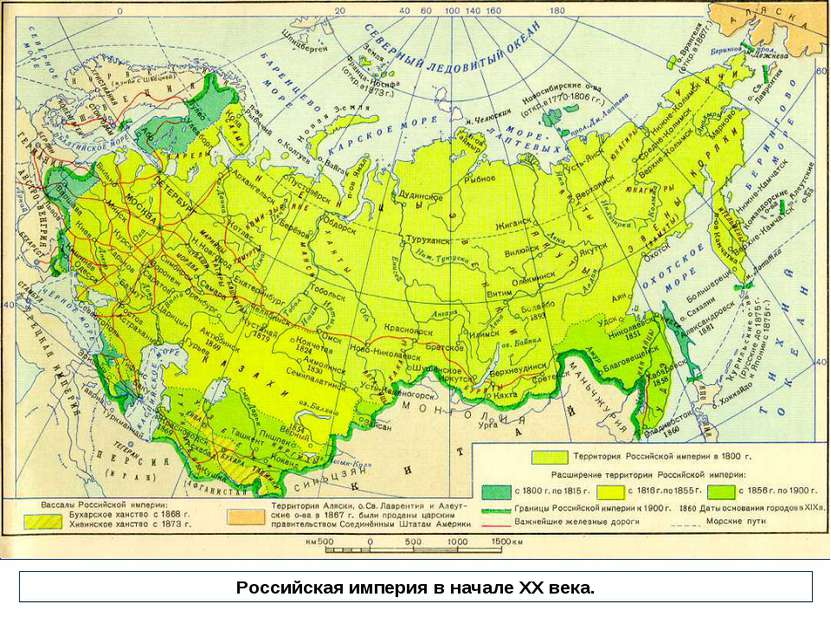 Российская империя в начале ХХ века.
