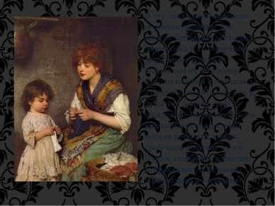 В эту эпоху вязание имело огромное значение для многих британцев, которые зан...