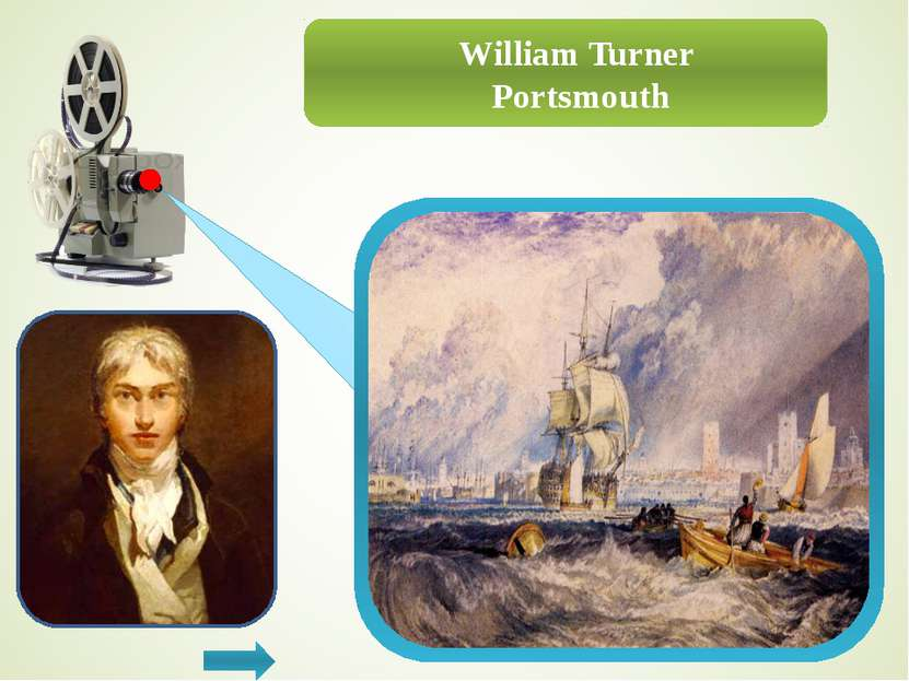 William Turner Calais Pier with French Poissards