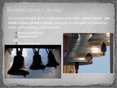 Колокольные звоны Православный звон Католический звон Кариольный звон На се...