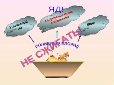 Углекислый газ Хлорорганические соединения Вода