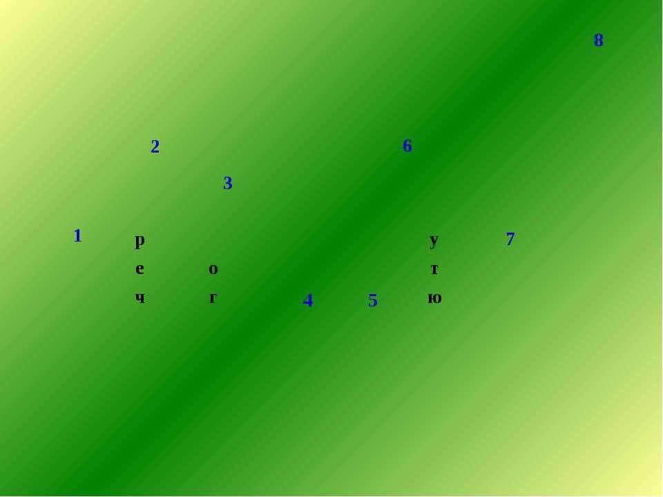 8 1 6 2 3 р 4 5 у 7 е о т ч г ю э к о л о г х а н е б о ь с л а   к а