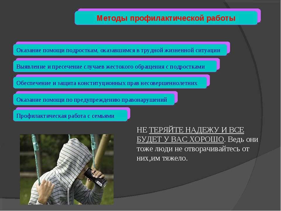 Обеспечение и защита конституционных прав несовершеннолетних Выявление и прес...