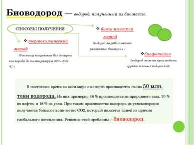 СПОСОБЫ ПОЛУЧЕНИЯ Биотопливо третьего поколения - топливо, полученное из водо...