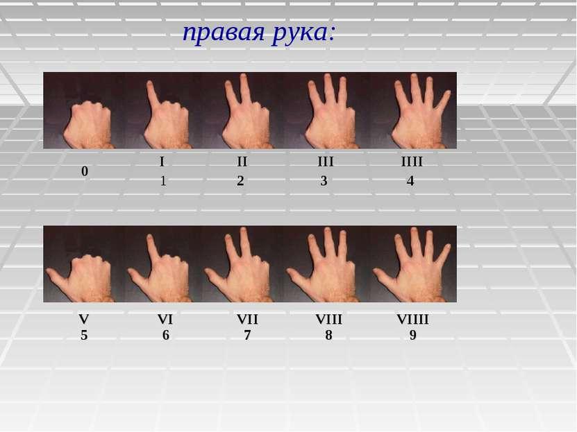 правая рука: