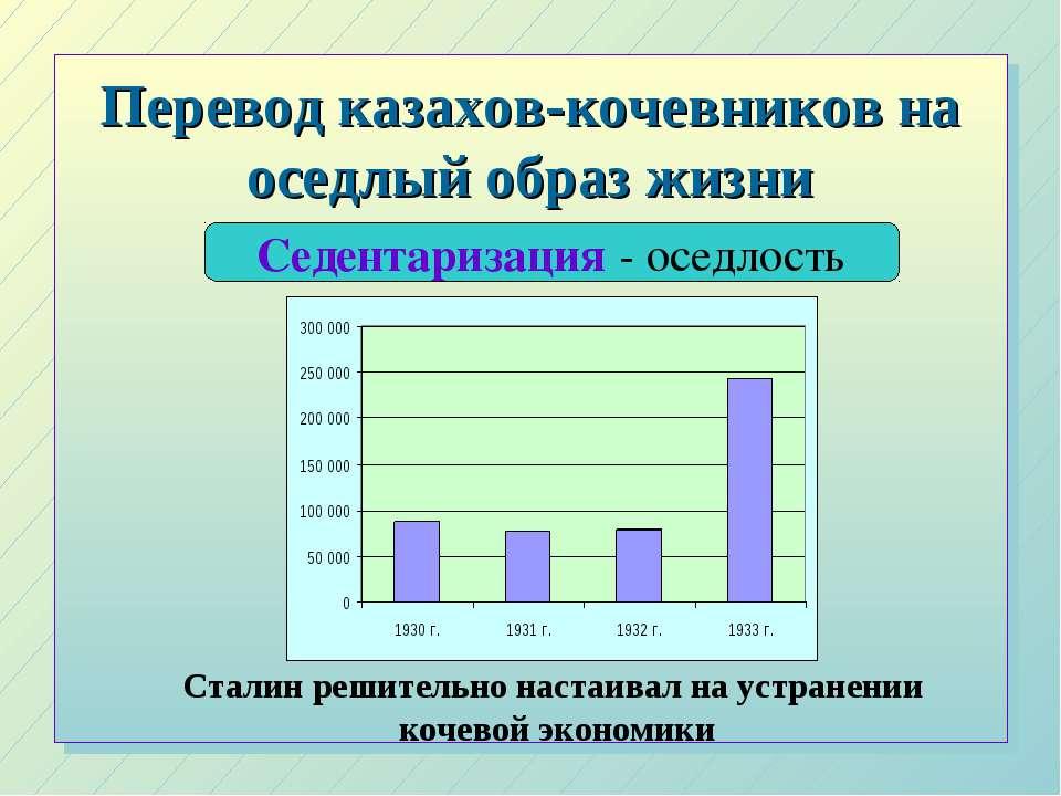 Перевод казахов-кочевников на оседлый образ жизни Седентаризация - оседлость ...