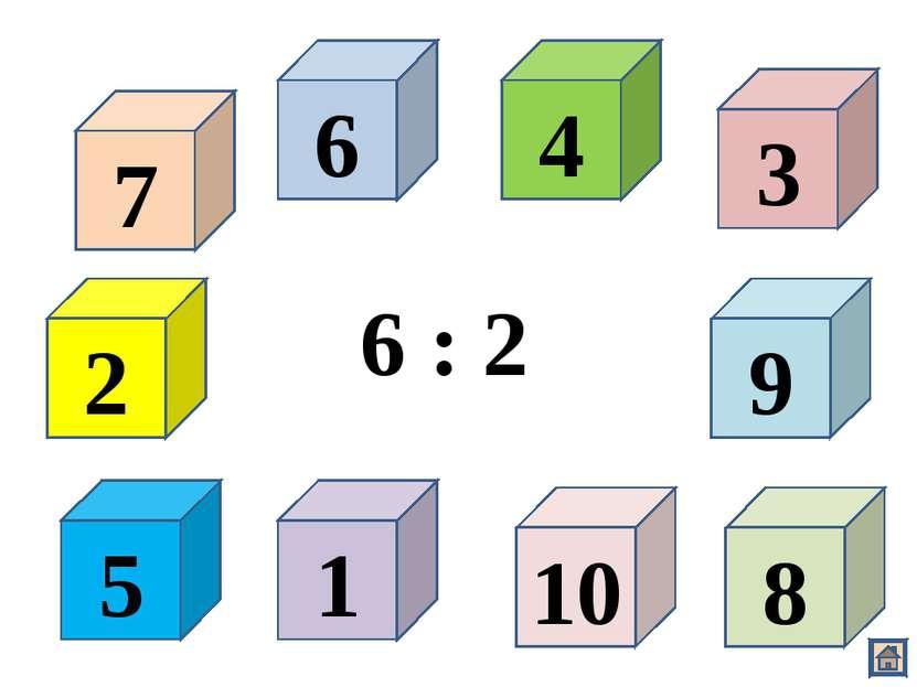 2 7 6 4 1 10 8 9 5 3 6 : 2