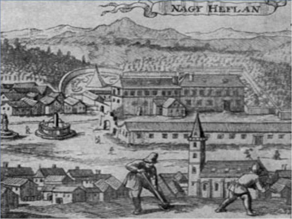 Господствует феодальная земельная собственность в виде вотчины в сочетании с ...