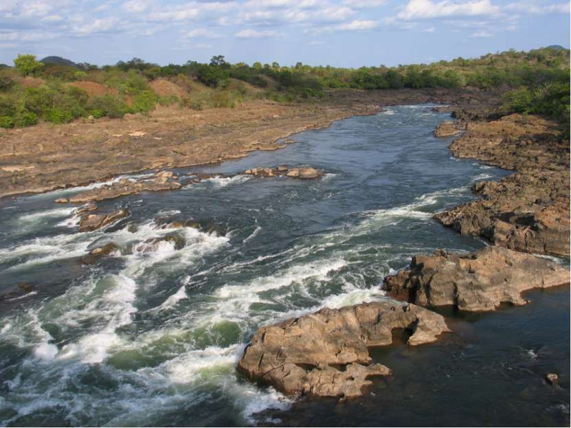 Реки Африки - Кванза