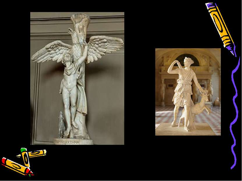 Ганимед и орёл (Ватикан) Скульптор Леорхар Диана Версальская