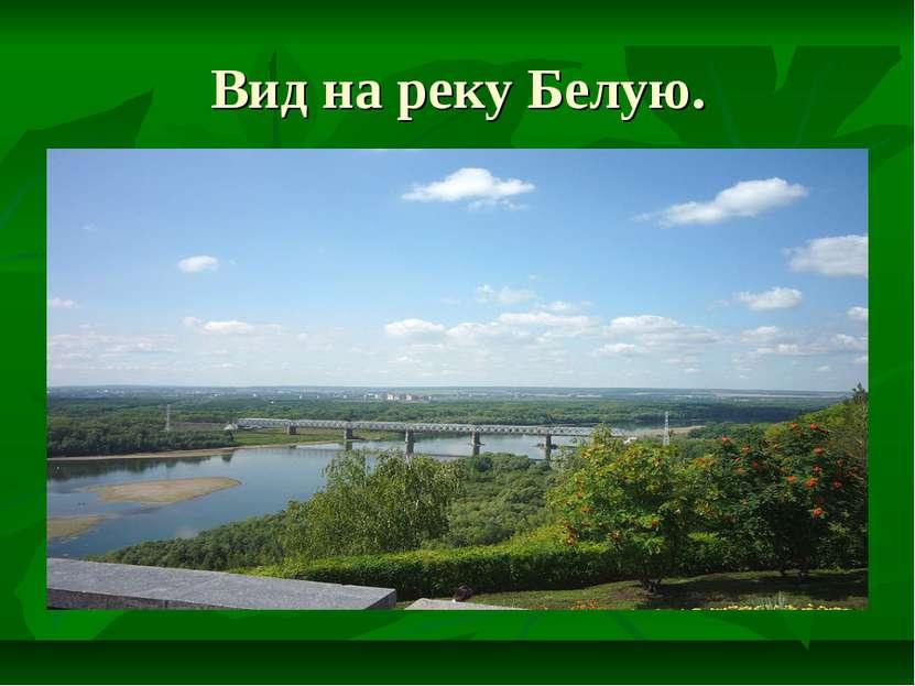 Вид на реку Белую.