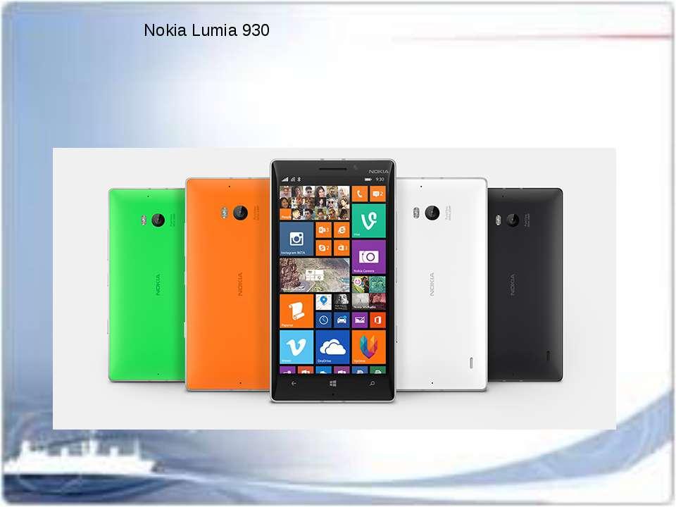 Nokia Lumia 930