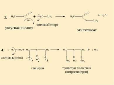 глицерин тринитрат глицерина (нитроглицерин) азотная кислота 3. 4. этиловый с...