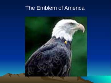 The Emblem of America