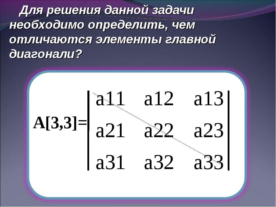 Для решения данной задачи необходимо определить, чем отличаются элементы глав...