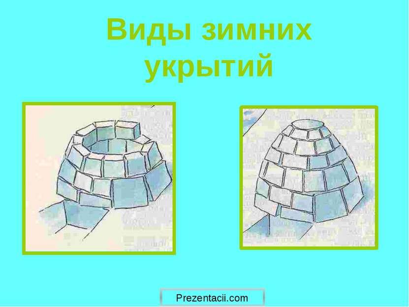Виды зимних укрытий Prezentacii.com