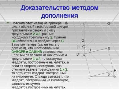 Доказательство методом дополнения Поясним этот метод на примере. На рис. к об...