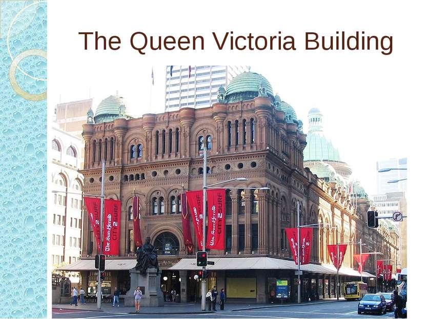 The Queen Victoria Building