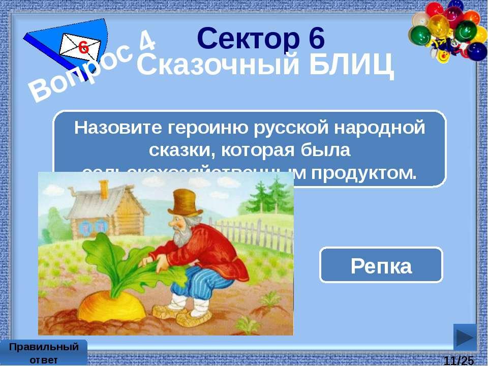 Сектор 2 2 Кто в России ввел день смеха? Пётр 1 Правильный ответ /25
