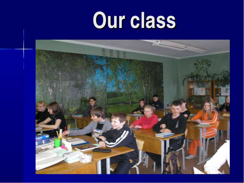 Our class