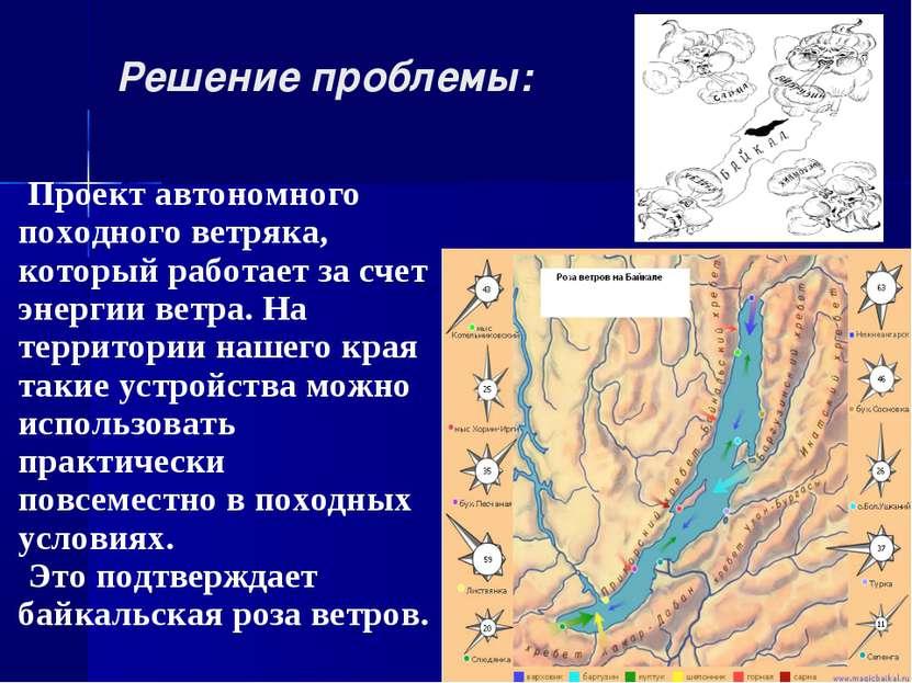 Решение проблемы: Проект автономного походного ветряка, который работает за с...