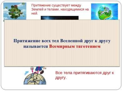 Между планетами: притягиваются между собой Земля и Луна. Земля и другие плане...