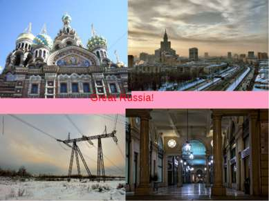 Great Russia!