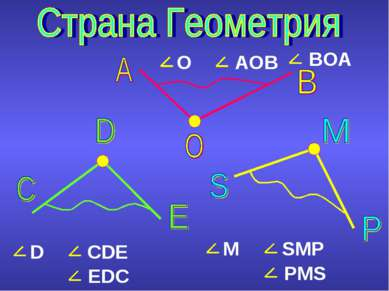D CDE O AOB M SMP EDC PMS BOA