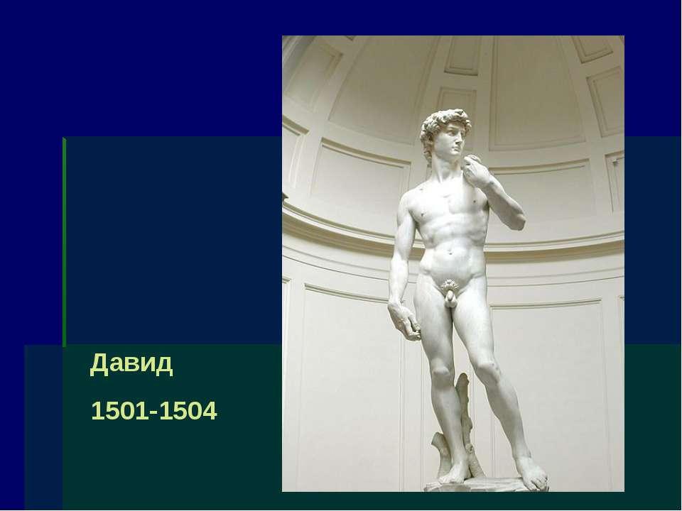 Давид 1501-1504