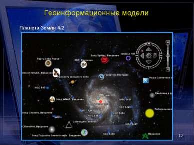 * Геоинформационные модели Планета Земля 4.2