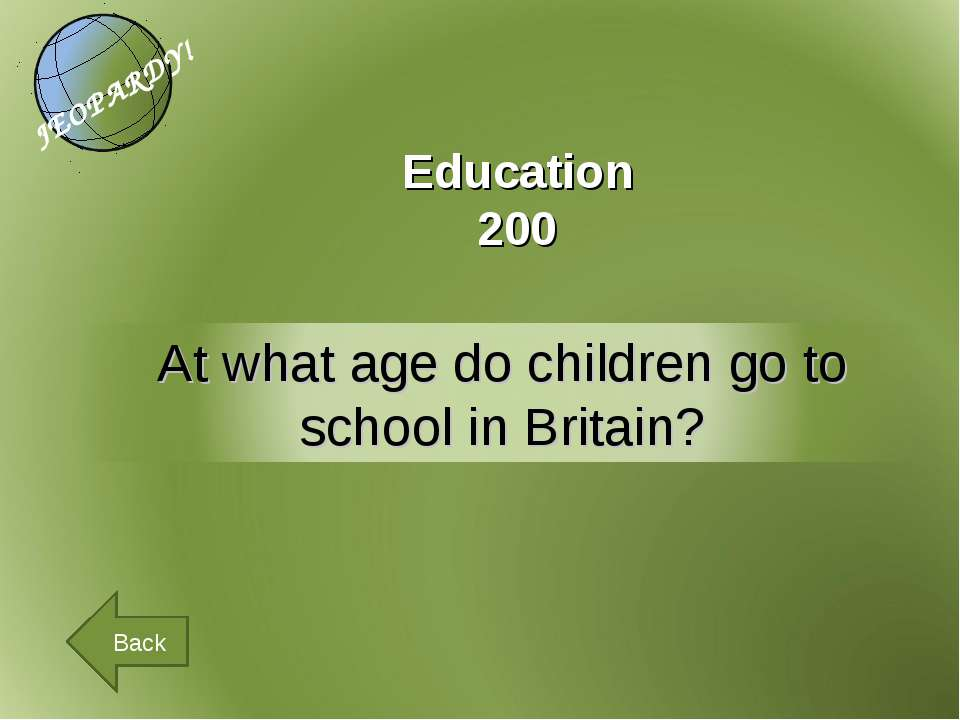 Education 200 Back