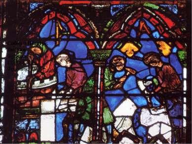 * Собор в Шартре. Витраж Франция 1194 - 1260 Франция, Шартр