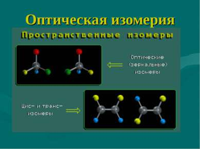 Оптическая изомерия