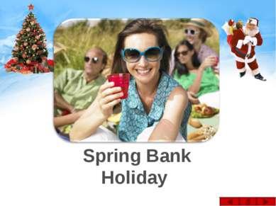 Spring Bank Holiday