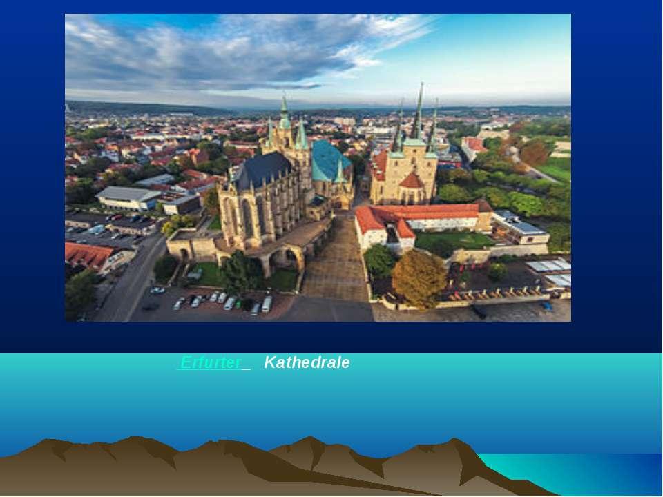 Erfurter Kathedrale