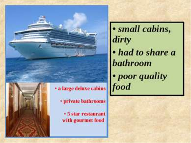 PRINCESS LINES • a large deluxe cabins • private bathrooms • 5 star restauran...
