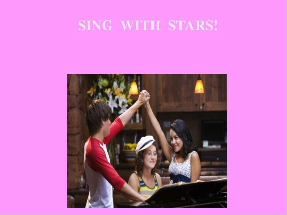SING WITH STARS!
