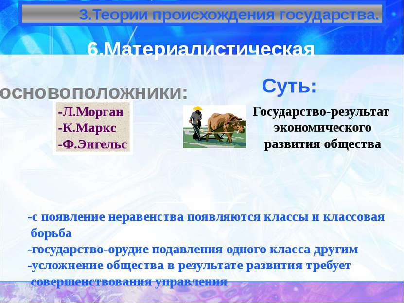 Типология государств По политическому режиму Тоталитарное; Авторитарное; Демо...