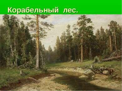 Корабельный лес.