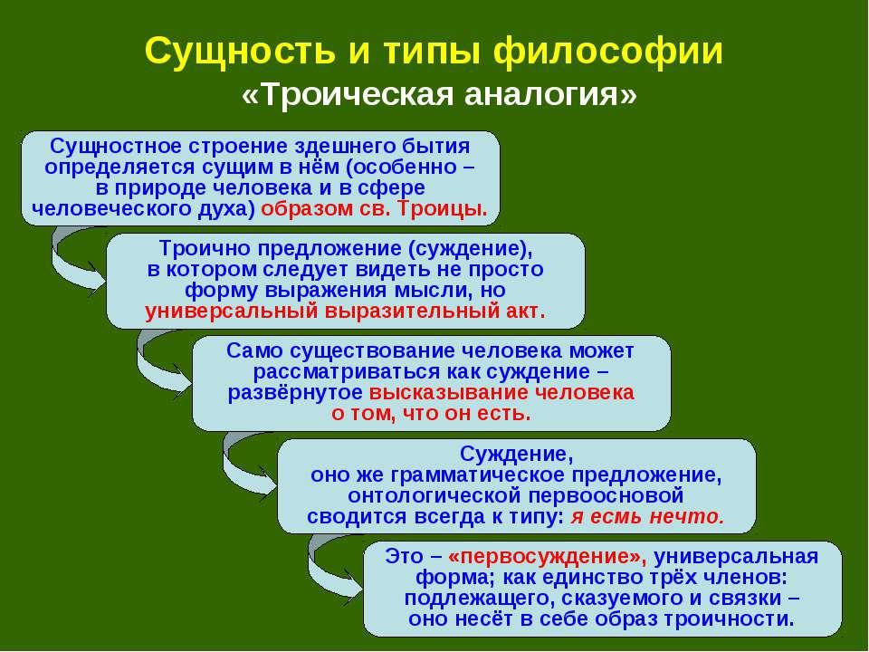 Троично предложение (суждение), в котором следует видеть не просто форму выра...