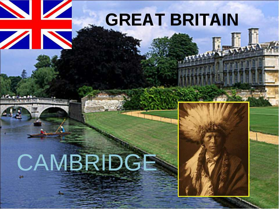 GREAT BRITAIN CAMBRIDGE