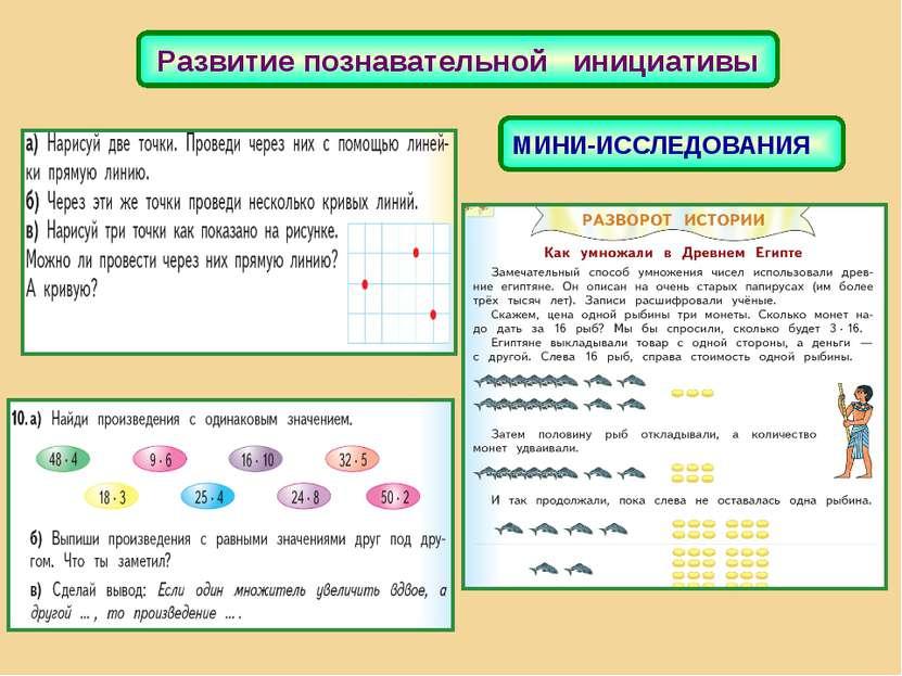 Развитие познавательной инициативы МИНИ-ИССЛЕДОВАНИЯ