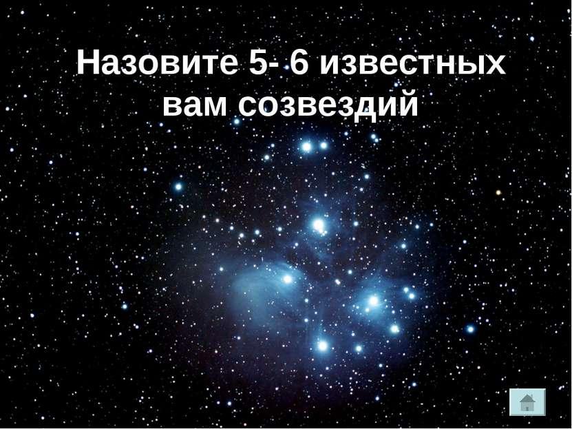 Кто такой Давид Ливингстон ? Назовите 5- 6 известных вам созвездий