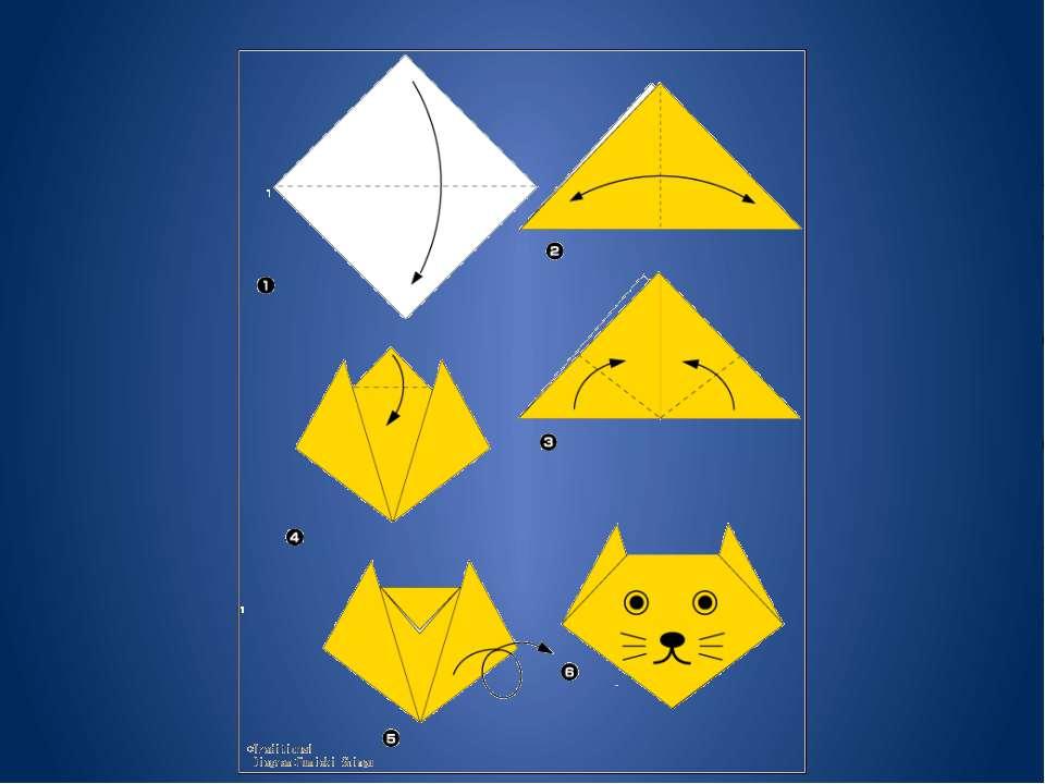 Технология изготовления поделки оригами