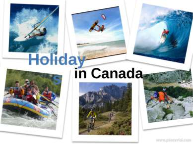 Holidays in Canada